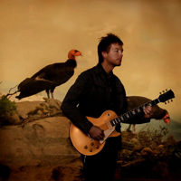 Dave Devine with wild birds